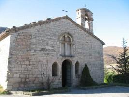 Cagli little church Le Marche Italy