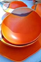Marche modern pottery Urbino Marcello Pucci