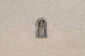 Sant_Ippolito Marche Italy stone virgin facade