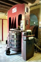 Wine press winery wines of le marche Italy