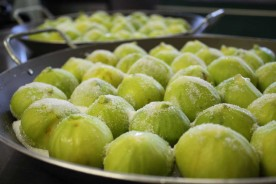 Fig preserve Marche cooking holidays Urbino Italy
