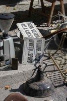 Fano antique market Marche shopping holiday