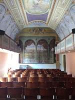 Sassocorvaro theatre Marche Italy tiny theatre culture music