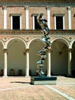 Tony Cragg Urbino Ducal Palace Marche Italy Tourism