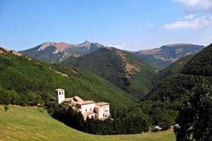 Fonte Avellana Marche Umbria Monastery Medieval