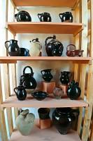 Pottery collection Urbania Marche terracotta Italy