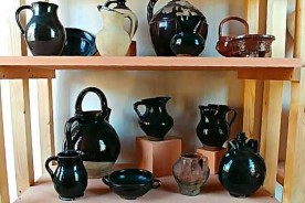 Pottery collection Urbania Marche terracotta Italy