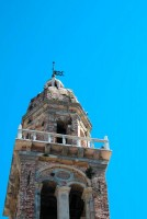 Orciano bell tower Le Marche tourism Italy