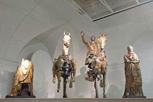 Roman Glided Bronzes Cartoceto Pergola Le Marche tourism Italy