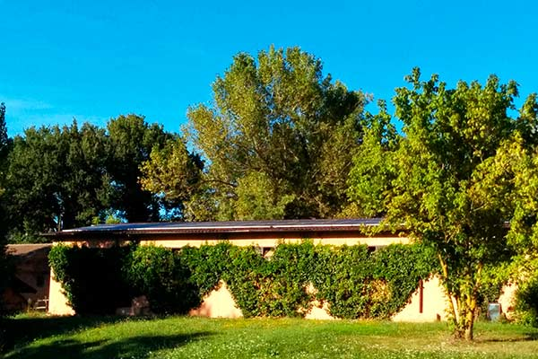 Photovoltaic Eco Green accommodation Urbino Marche Italy