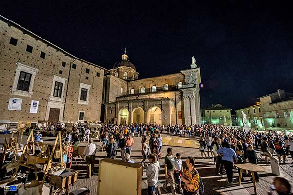 Things to do festivals fairs Urbino Marche