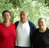 Giulia and her parents