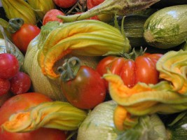 Organic vegetables kitchen garden Italy Sustainable holidays