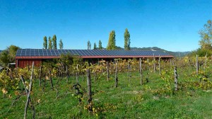 Photovoltaic barn eco farmstay Green Holiday Marche Italy