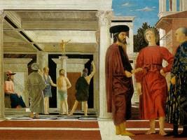 Art and culture lovers Piero della Francesca Flagellazione Ducal Palace Urbino Marche accommodation