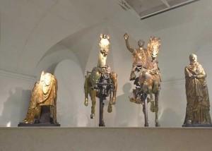 Candigliano and Cesano Pergola gilded bronzes Roman Italy Visit Marche