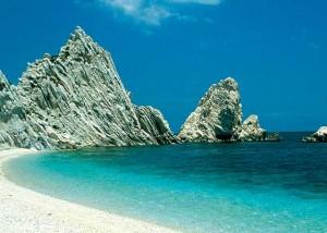 Conero cliffs Visit Marche Adriatic Coast Italy