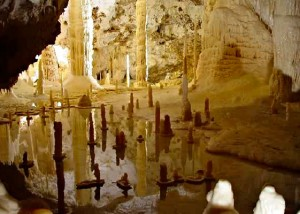 Frasassi caves and Fabriano Visit Marche Italy
