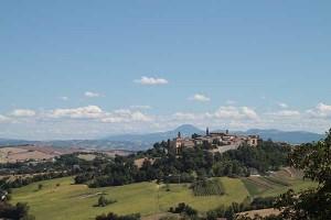 Hilltop Towns Mondavio Orciano Marche Tourism