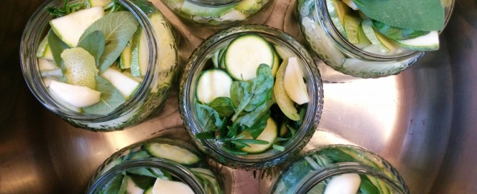 Pickled-courgettes-zucchini