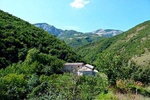 Monte Cucco Abbazia di Sitria Between Umbria and Le Marche
