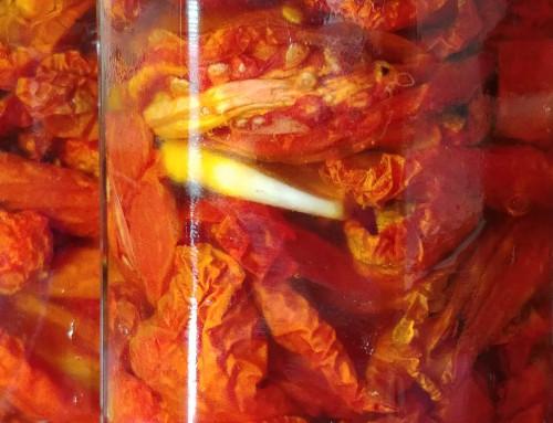 Sun dried tomatoes recipe – Pomodori secchi
