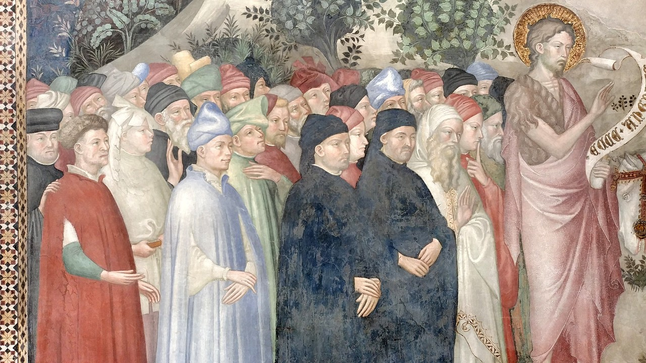 Characters Saint John's Oratory Urbino